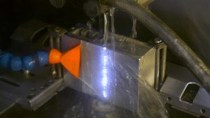 Extrusion process on Astro Frame Cap
