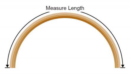 Measure length diagram for Astro Flash