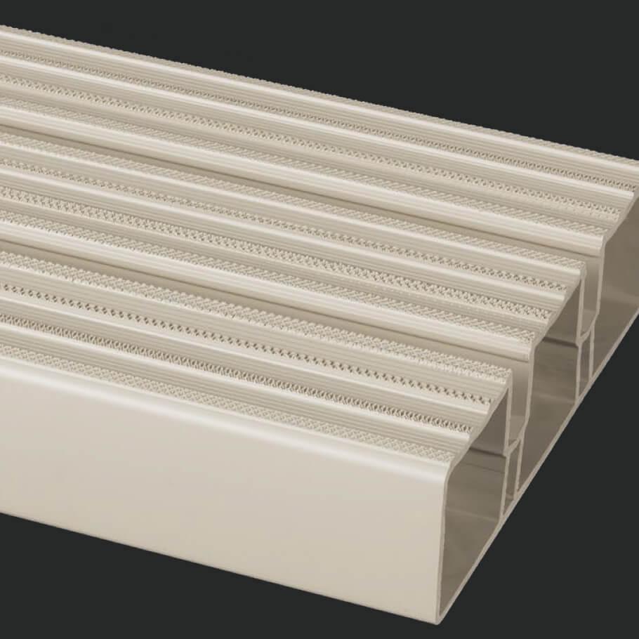 PVC trim dock design
